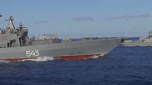 """Индо-Тихоокеанский регион """"с нетерпением ждет"""" российские морские базы..."""