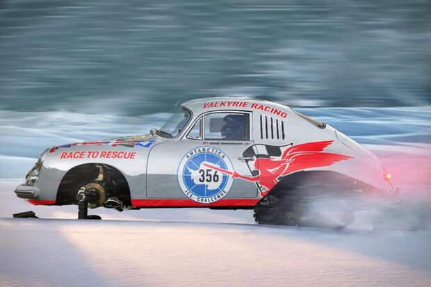 Valkyrie Porsche 356 Antarctic Race Car