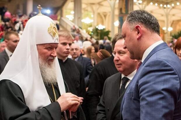 Президент Молдавии: патриарха Кирилла ждут на обоих берегах Днестра