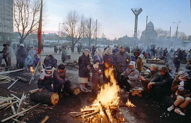 Developments in Lithuania, 1991