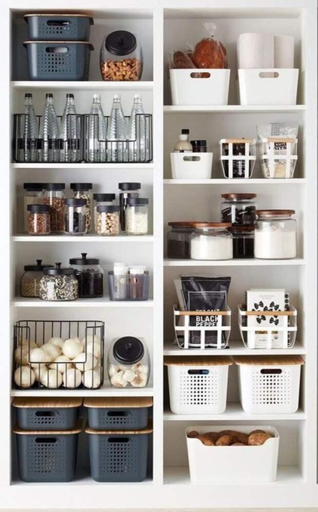 Варианты хранения и организация порядка в доме
