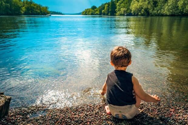 В Удмуртии могут начать удалять с пляжей детей, отдыхающих без родителей
