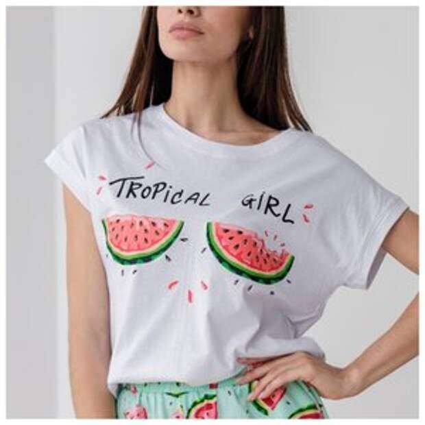 Модные и не модные принты на футболках в 2021 году