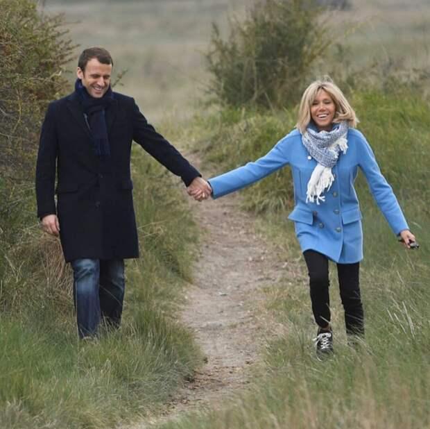 Счастливы вместе: история знакомства и любви Эммануэля и Брижит Макрон
