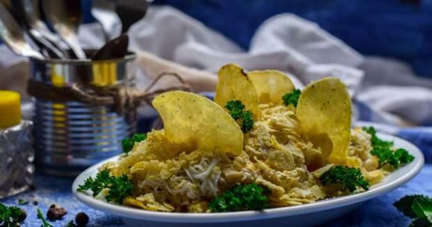 "Салат ""Парус"" - вкусно и просто"