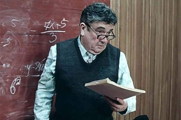 Евгений Весник в фильме «Приключения Электроника». 1980 год.