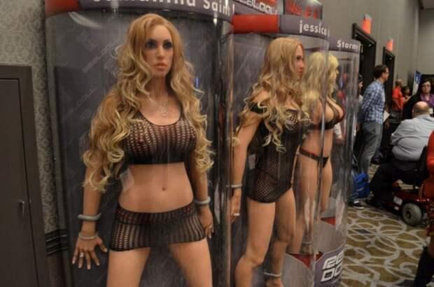Эксперт рассказал о пользе секс-роботов, полностью заменяющих человека