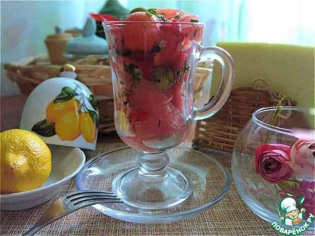 Витаминный салат с грейпфрутом