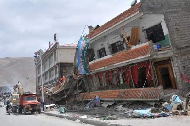 Землетрясение магнитудой 6,9 произошло на западе Китая