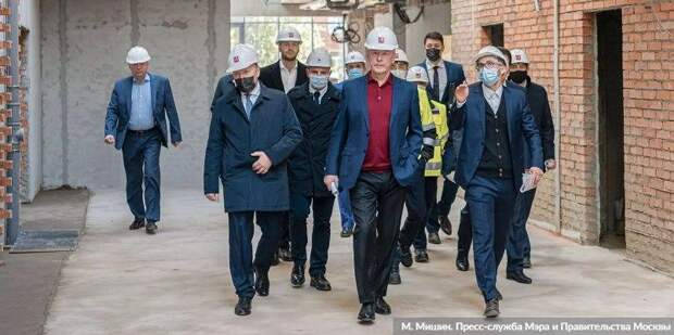 Собянин рассказал о строительстве спортивных объектов в Москве. Фото: М. Мишин mos.ru