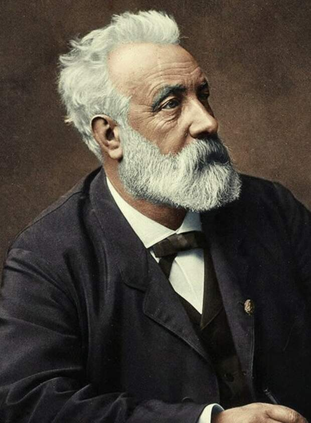 Французский писатель Жюль Верн