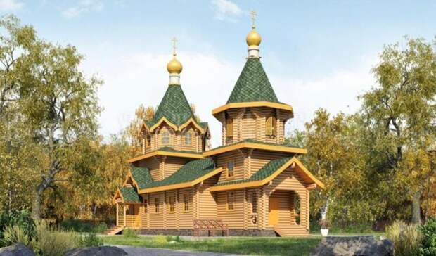 Депарх назвал нарушения всвязи состроительством храма вомском сквере Молодоженов