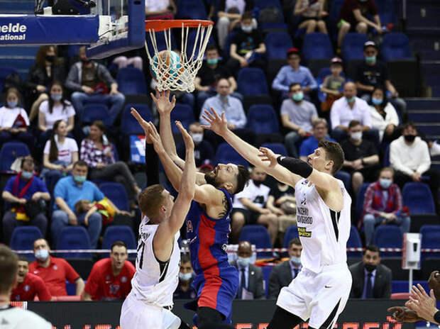 Баскетболисты ЦСКА прогулялись по краю пропасти