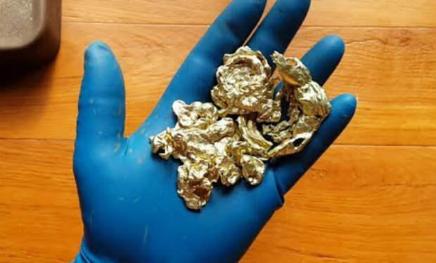 Старатель вышел на золотой прииск, а потом взвесил золото добытое за 1 день