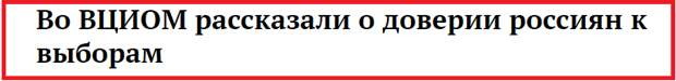 """Набираешь в поисковой строчке поисковую фразу: """"...доверие граждан к выборам..."""" и... выскакивает отчет ВЦИОМ"""