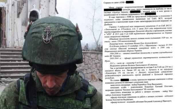 Для подрывной деятельности в РФ американцы засылали украинских бойцов