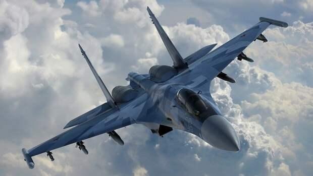 Российский Су-30 перехватил три самолета ВВС Франции в небе над Черным морем