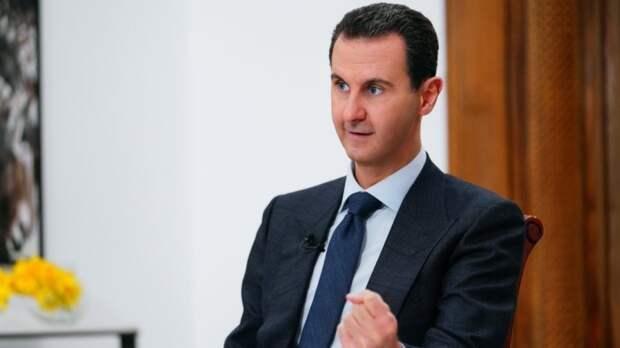 Президент Сирии направил Путину поздравление с Днем Победы