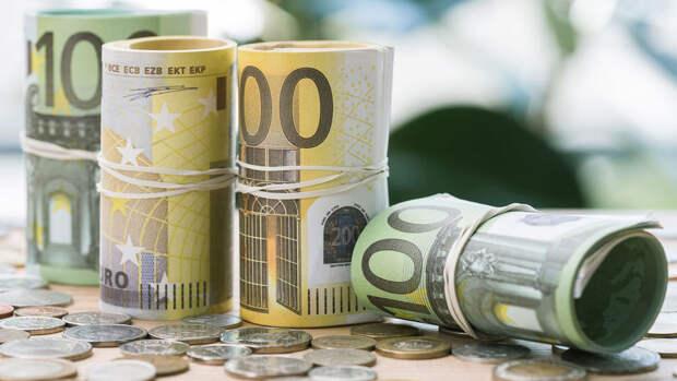 Рекордный объем наличных евро ввезли в Россию за год