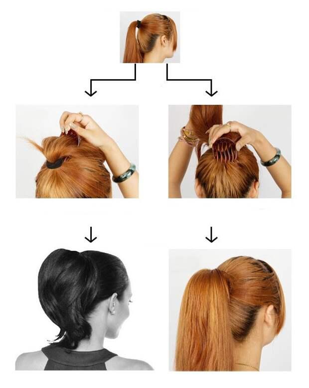 Приспособления для причёсок (трафик)