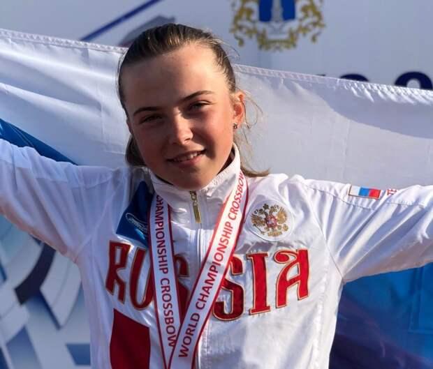 Арбалетчица из Кузьминок стала чемпионкой России