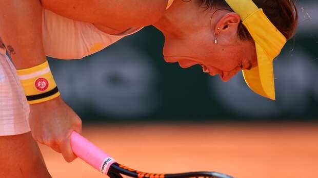 Павлюченкова прокомментировала первый выход в финал «Ролан Гаррос» в карьере