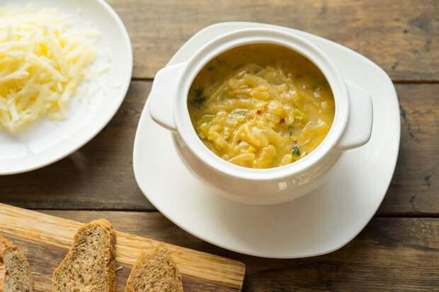 Как приготовить классический французский луковый суп в горшочке, пошаговый рецепт с фото, блог и интернет-магазин andychef.ru