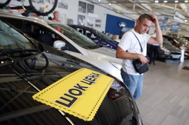 В России автомобили подорожали на 17%