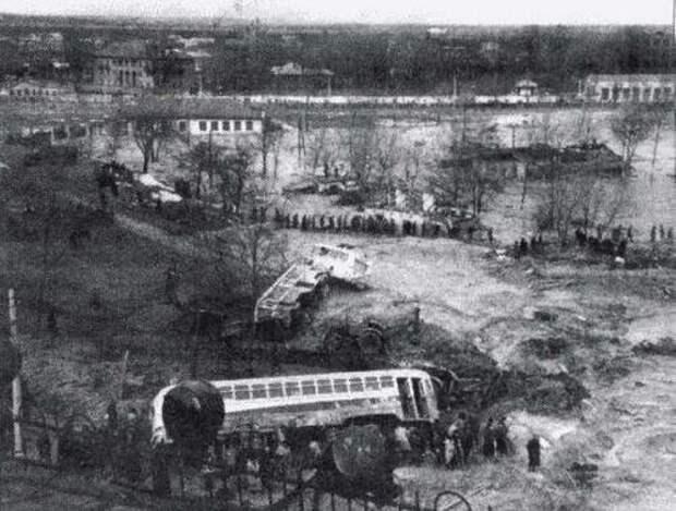 Киев. Март 1961 года. СССР, аварии 18+, трагедии