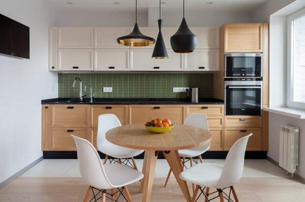 цвет стола на кухне