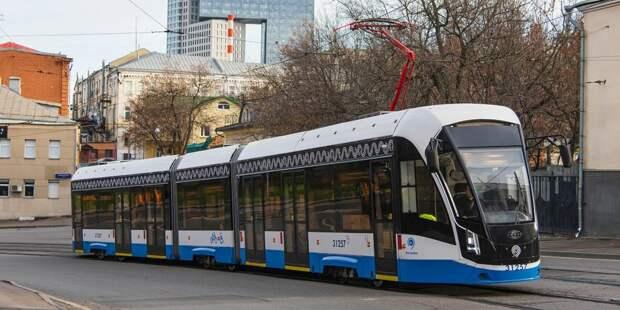 На маршрут трамвая №28 выйдут трехсекционные «Витязи»