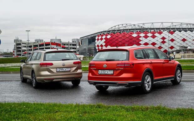 Volkswagen Passat Variant или Alltrack: за что доплата?