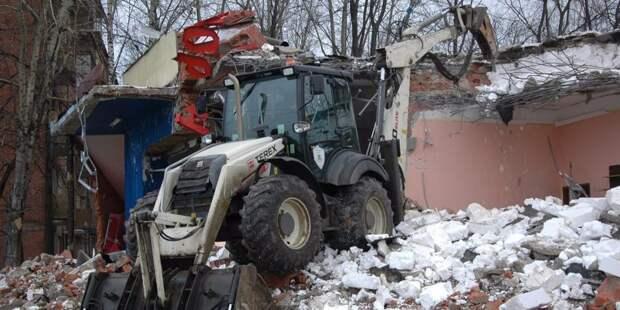 Инспекторы по недвижимости выявили в Войковском четыре самостроя