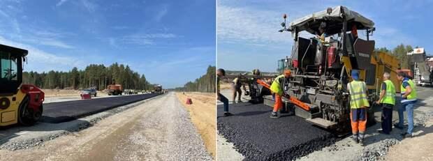 Платная трасса М-12: первый километр уложен на участке во Владимирской области