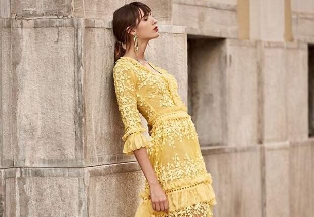 Кружевные платья 2020 – модные тенденции, как сочетать