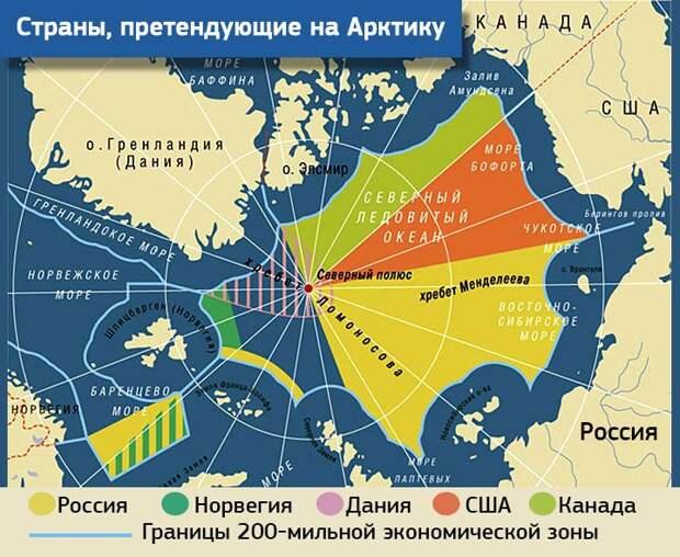 Пентагон нацелился на завоевание господства в Арктике