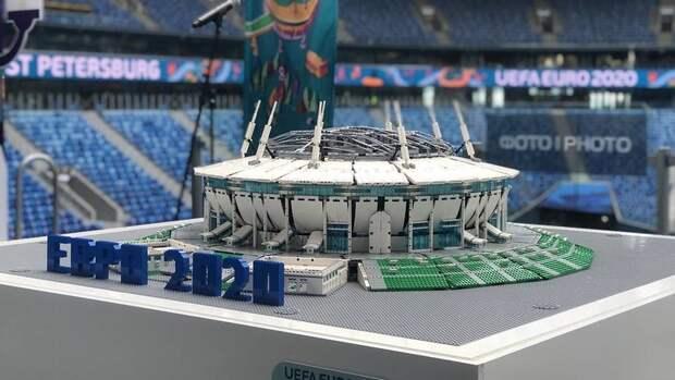 Организаторы представили макет стадиона «Санкт-Петербург»