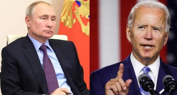 Американцы назвали главное отличие между Байденом и Путиным