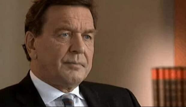 Экс-канцлер ФРГ Шрёдер раскритиковал санкции против России