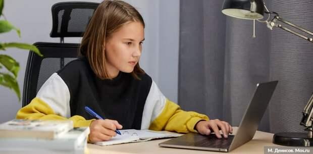 Наталья Сергунина рассказала об онлайн-формате работы детских технопарков в Москве. Фото: М. Денисов mos.ru