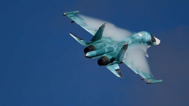 Россия разместит Су-34 на арктических островах