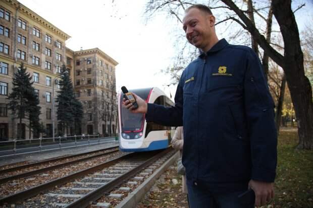 Капремонт трамвайных путей у станции метро «Войковская» завершится в ноябре