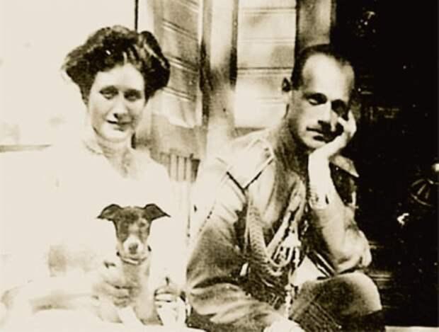 Великий князь Михаил Александрович и Наталья Сергеевна Брасова   Фото: radikal.ru