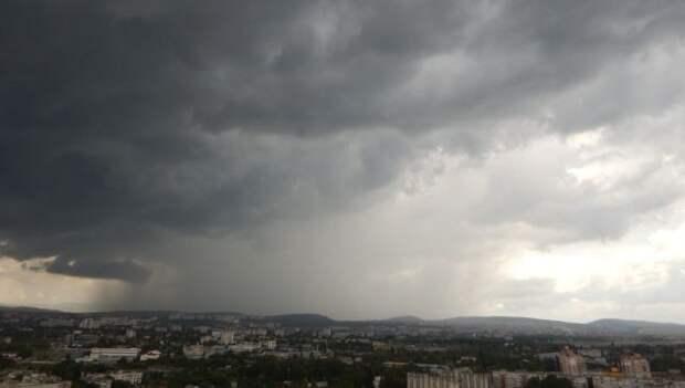 Крым снова накрыли дожди: прогноз погоды на среду