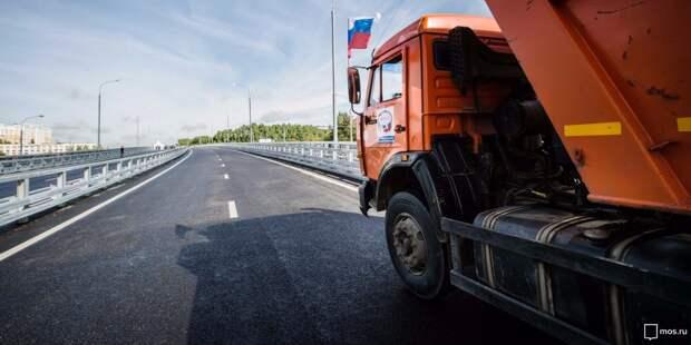 На Академика Алиханова выявили нарушения правил парковки грузовиками