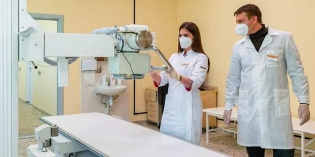 В Депздраве рассказали об обновлении медоборудования по контрактам жизненного цикла . Фото: Д.Гришкин, mos.ru