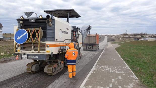 Камышовое шоссе в Севастополе обещают сдать с годичным отставанием