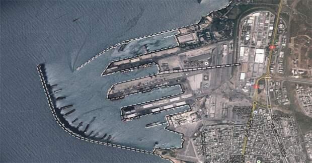 Над военно-морской базой РФ в Тартусе пролетел американский самолет-разведчик