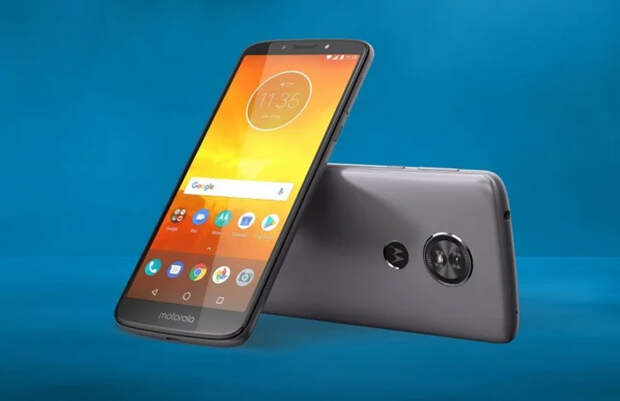 Опубликованы характеристики бюджетного смартфона Motorola Moto E6