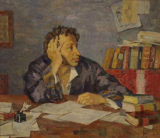 Пушкин очень любил шутить.